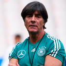 Under pressure: Germany head coach Joachim Low