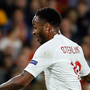 Pure quality: England winger Raheem Sterling slots in for England last night against Spain at the Ramon Sanchez Pizjuan