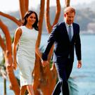 The Duke and Duchess of Sussex at Admiralty House in Sydney