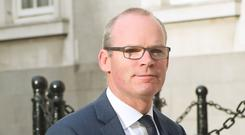 Irish deputy prime minister Simon Coveney (Niall Carson/PA)