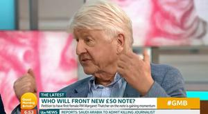 Stanley Johnson appearing on Good Morning Britain / Credit: ITV