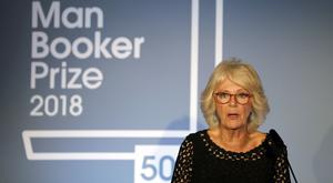 Camilla has attended every award ceremony for the Man Booker since 2013 (Frank Augstein/PA)