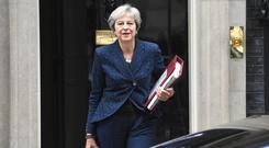 Prime Minister Theresa May (Kirsty O'Connor/PA)