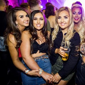 People out at Limelight for Scratch Mondays Belfast's. Monday 15 October 2018. Credit: Liam McBurney/RAZORPIX