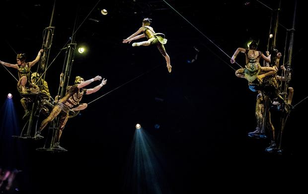 Cirque du Soleil at the SSE Arena in Belfast on October 17th 2018 (Photo by Kevin Scott for Belfast Telegraph)