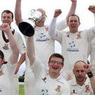 Good times: Limavady players of old celebrate a victory