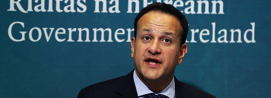 Leo Varadkar used the story of an IRA bombing of a customs post to emphasise the importance of the border issue to EU leaders (Brian Lawless/PA)