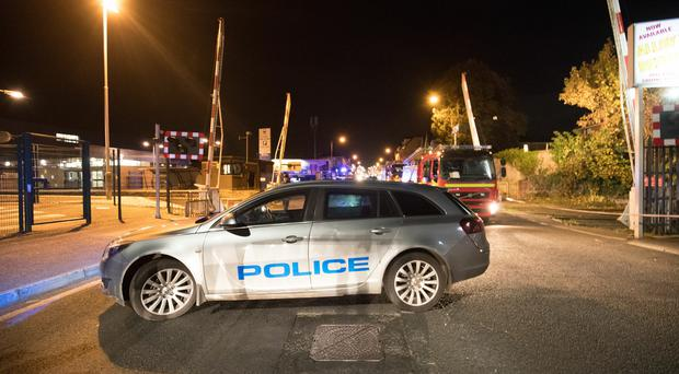 Emergency services at the scene of an incident in the William Street area of Lurgan on October 18th 2018 (Photo by Kevin Scott for Belfast Telegraph)