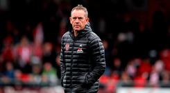 In the hunt: Kenny Shiels is aiming for big finish