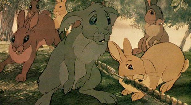 Controversial: the film adaptation of Watership Down