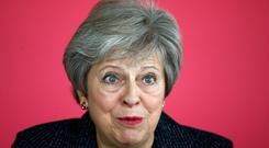 Prime Minister Theresa May (Henry Nicholls/PA)