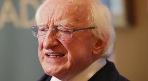 Police in Northern Ireland have disputed Irish President Michael D Higgins' claim that he had to travel to Belfast by private jet because they could not provide security for him to journey by road (Niall Carson/PA).