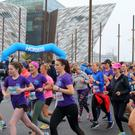 Pure Running RunHer 5&10k run at Titanic Quarter Belfast. Picture by Jonathan Porter/PressEye