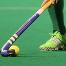 Eugene Magee came to Banbridge's rescue again when he scored a dramatic last minute winner against Monkstown yesterday to keep his team top of the EY Irish Hockey League. (stock photo)