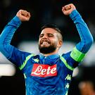 Lorenzo Insigne condemned Liverpool to Champions League defeat earlier this month but could he be on the move to Anfield?
