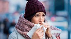 Feeling irritated: it can take up to three weeks to get rid of a cough