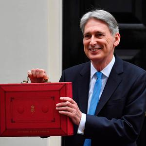 Philip Hammond is set to deliver the Budget