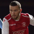 On fire: Marty Donnelly has been impressive for Larne