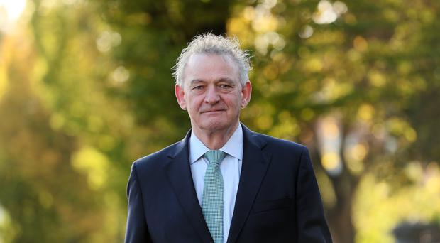 Irish presidential candidate Peter Casey (Brian Lawless/PA)