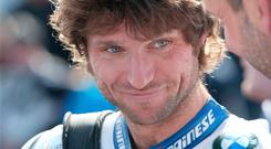 Speed king: Guy Martin at the North West 200 in 2015