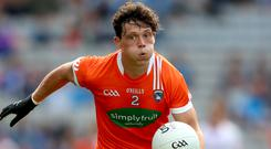 Timely fillip: James Morgan's availability for 2019 is a tonic for Orchard boss Kieran McGeeney