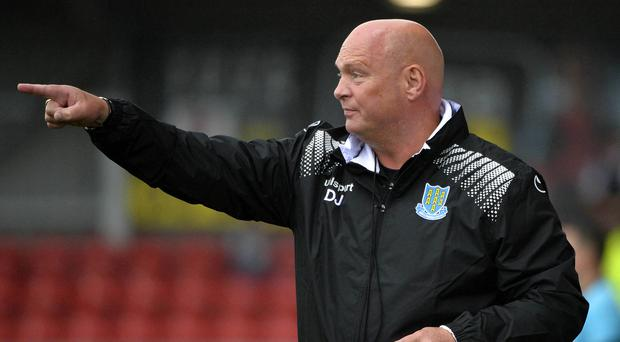 On his toes: David Jeffrey doesn't just revolve, he evolves too