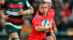 Major breakthrough: Mike Lowry in action for Ulster