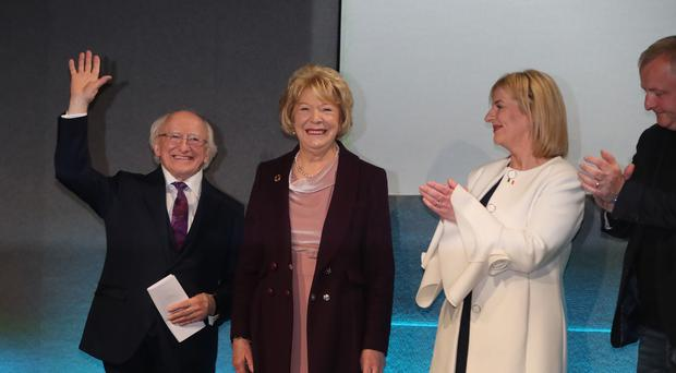 Michael D Higgins has won another seven-year term in office (Niall Carson/PA)