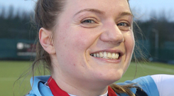 At the double: Two goals for Garvey's Scarlett Holdsworth