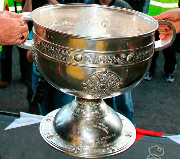 The Sam Maguire trophy
