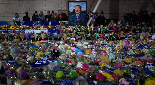 'What can we do? We watch the floral tributes growing bigger and bigger outside the King Power Stadium, read the tweets wishing Glenn a speedy recovery and the articles about the player in his pomp, say a prayer if so inclined, feel sorry for those loved ones in panic or bereavement, and we remind ourselves that this is what people do when they do the best they can with a fate beyond their control'