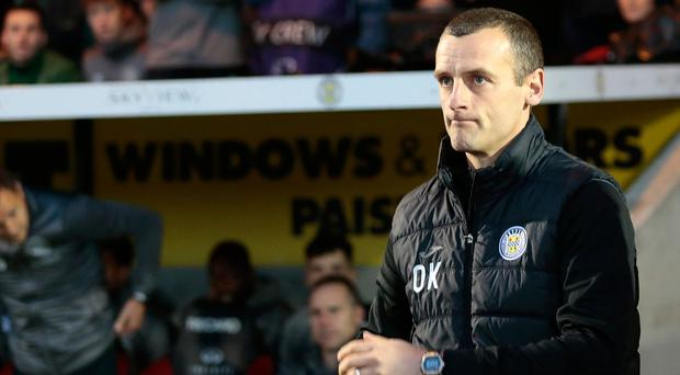 Oran Kearney secured a 0-0 draw with Celtic in his first match in Scottish football but has endured a tough spell since.