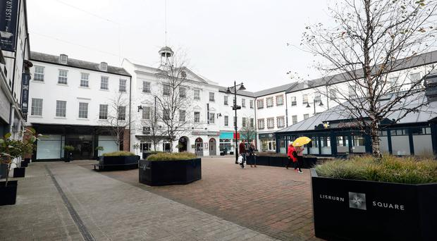 Lisburn's Market Square has been earmarked for a new £4m hotel which is set to open next summer