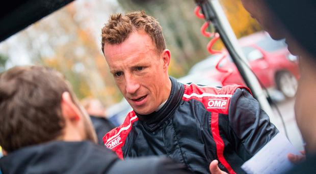 Long wait: Kris Meeke gets first drive since May accident