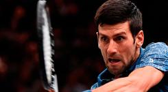 First man: Novak Djokovic