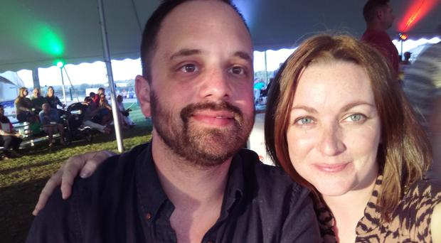 Dominic and Gemma Capparelli were told their right of permanent residence had expired. Photograph: Dominic Capparelli