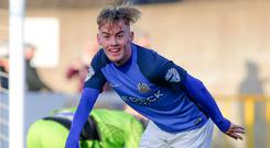 Mark Sykes is a man on top form for Glenavon.