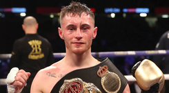 Fired up: Ryan Burnett is relishing tonight's battle with Nonito Donaire