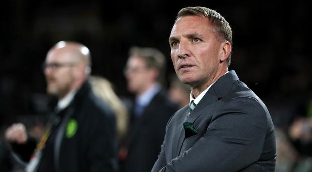 Shocking stuff: Brendan Rodgers is concerned by recent acts of violence inside grounds