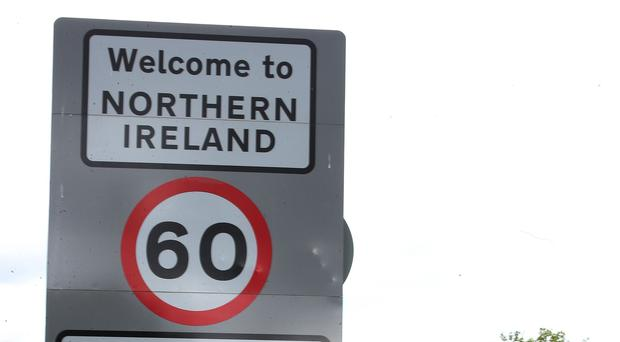 UK's PM May odds of Irish border deal