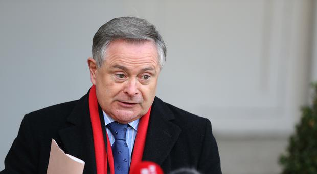 Ireland's Labour Party leader Brendan Howlin (Brian Lawless/PA)