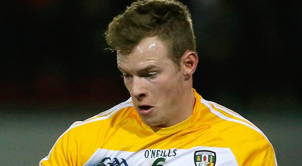 Top man: Peter Healy inspired St Enda's to victory