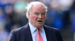 Ronnie McFall is far from happy at recent decisions.