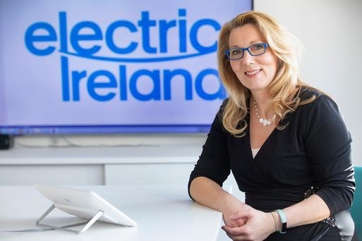 Clare McAllister,residential manager with Electric Ireland