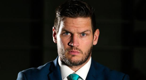 Belfast Giants head coach Adam Keefe