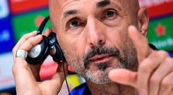 Big plans: Luciano Spalletti