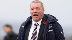 Going well: Ally McCoist has been impressed by Steven Gerrard