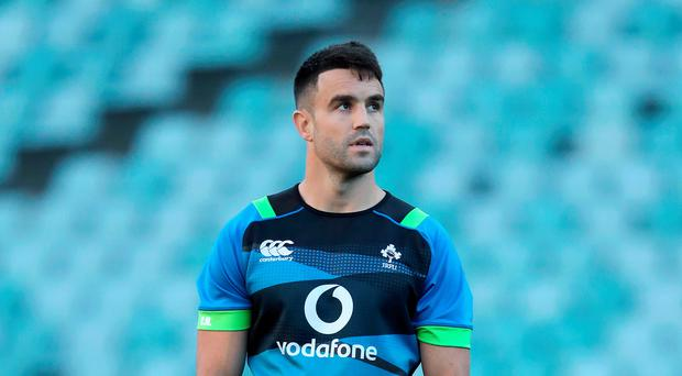 Fitness battle: Conor Murray has a long-term neck injury