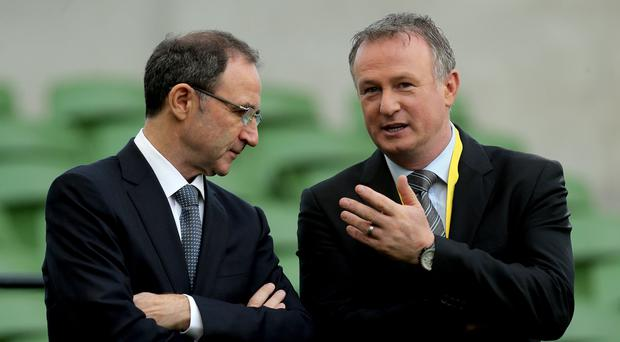Face off: Martin and Michael O'Neill disagree on eligibility