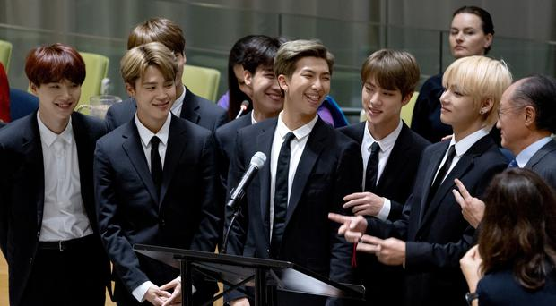 K-Pop group BTS (AP)
